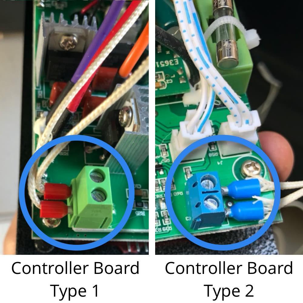 Controller Boards Temp Sensor Terminals