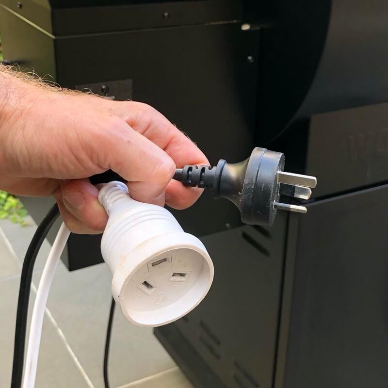 Unplug power