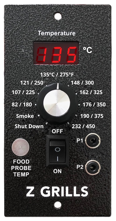 Z Grills pellet smoker automatic controller