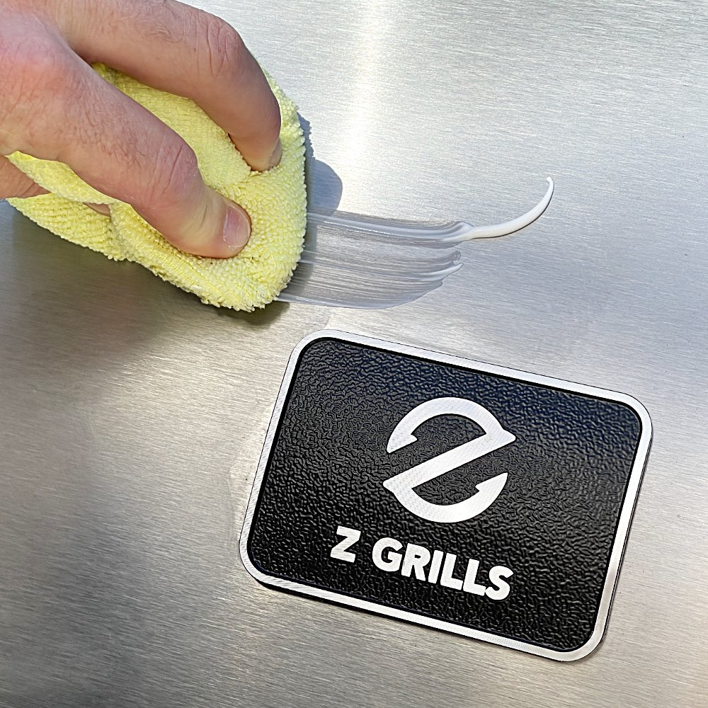 Z Grills stainless steel polish