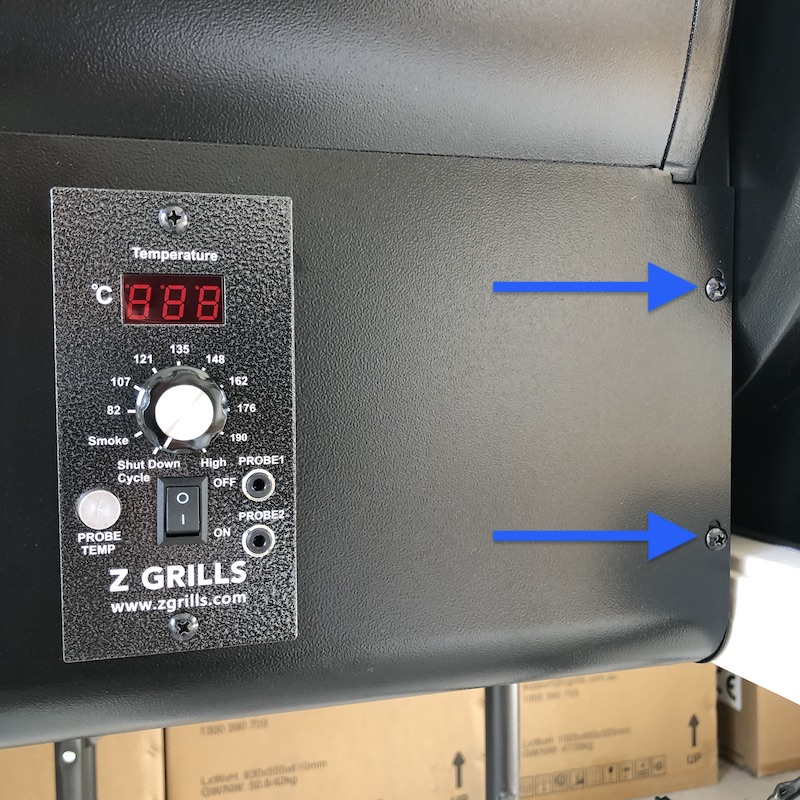 450A-Remove-side-screws
