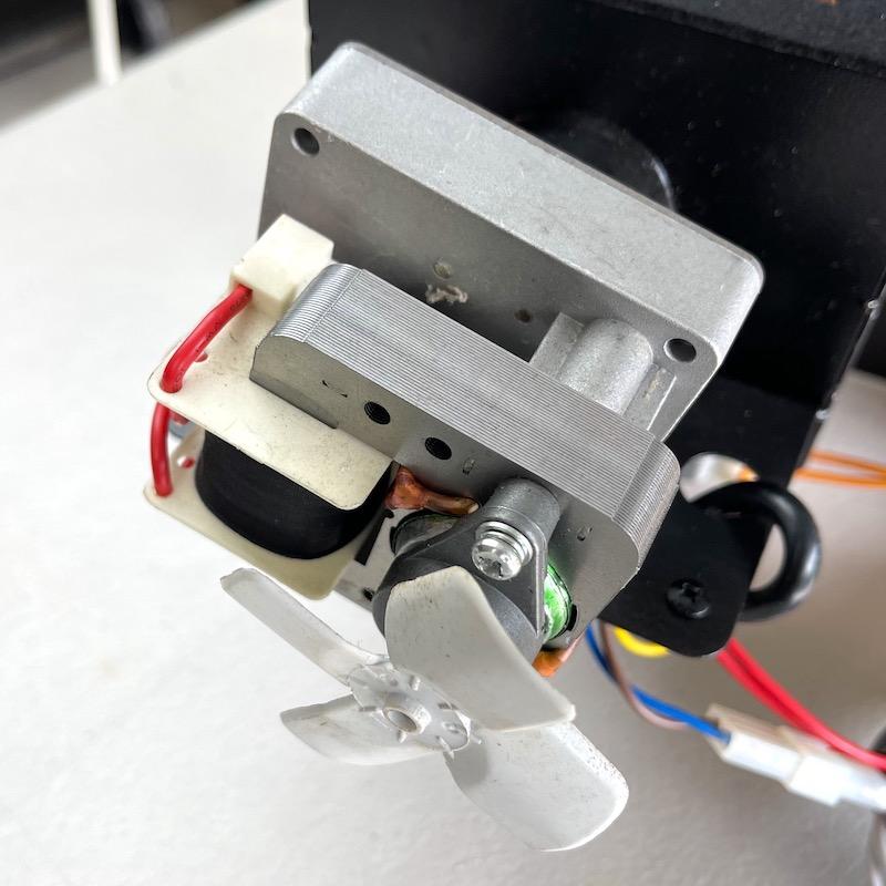 Z Grills Pellet Smoker Auger Motor Closeup